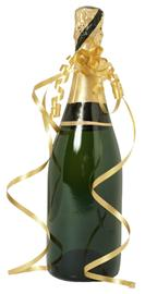 celebration of reaching estate Planning Goals characterized by a champaign bottle